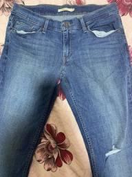 Calça jeans levi?s tam. 40