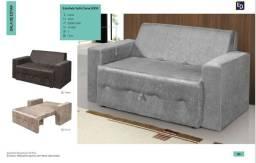 Sofa cama cores novo disponivel promoção entregamos