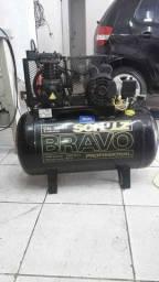 Compressor Schulz Bravo CSL 10 BR/100 Mono Profissional - Schulz-MonoCsL10BR