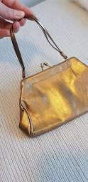 Bolsa em couro legítimo nunca usada