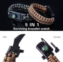 Pulseira de sobrevivencialismo