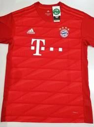 Camisa Bayern de Munique Home Adidas 19/20 - Tamanho: M