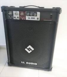 Caixa de Som LL Audio - muito conservada - favor ler