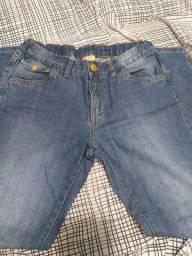 Calça jeans infantil tamanho 10 milon