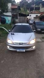 Peugeot 206  1.6 com GNV
