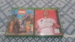 FIFA 20 e Zoo Tycoon para Xbox one