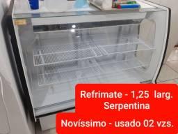 Balcão Vitrine Refrigerado - Novíssimo