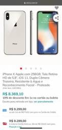 IPhone X novo 3 meses de uso