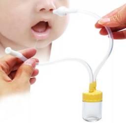 Kit aspirador nasal importado. 100% silicone.
