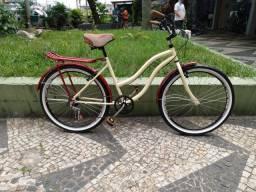 Bicicleta Beach Bege