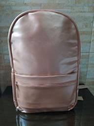 Mochila Metalizada Rosê