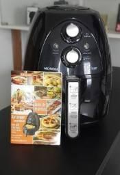 Fritadeira Mondial 2,7l + Brinde livro receita Novo Garantia, Loja Smart