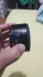 Lente yougnuo 50mm 1.8 Canon