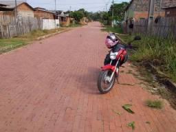 Vendo terreno casa em construção ruas pavimentadas boa localização