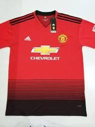 Camisa Manchester United Titular Adidas 18/19 - Tamanho: P