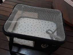 Bolsa mala transporte para cães e gatos companhia AZUL aérea  AERIAL São Pet