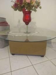 Tampão mesa vidro e centro
