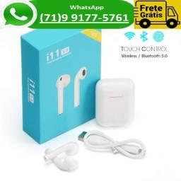Fone De Ouvido AirPods I11 Tws Bluetooth 5.0 Touch Ios (NOVO)