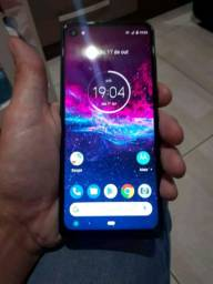 Motorola one acition 128g ( só pega chip 2 )