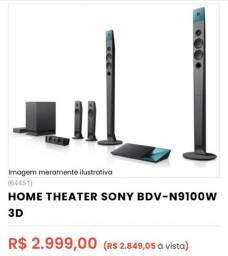 Home theater SONY BDV-N9100W 3D