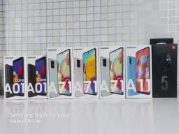 Linha Samsung Galaxy A lacrados com nota e garantia