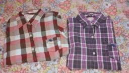 Camisas sociais da gringa- Abercrombie e fitch Nova York