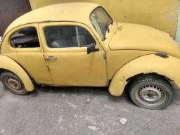 Fusca chassis ano 79 sem motor