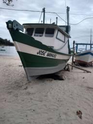 Bote de camarão com licença todo equipado