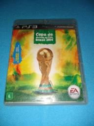 Jogo de PS3 (Copa do mundo FIFA 2014)