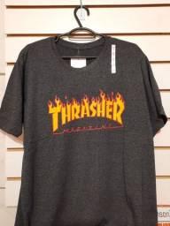 Camisetas trasher, adidas e Nike