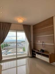 Cond. View Ponta Negra, 3 dormitorios c/ armarios e ar condicionados.