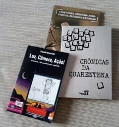 """""""Crônicas e momentos para a vida"""" (três livros supimpas!)"""