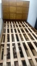 Cama de madeira tratada 2 em 1 (USADA)
