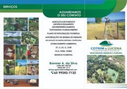 Topografia/Georreferenciamento/Regularização Fundiária/Licenciamento Ambiental