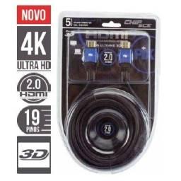 Cabo HDMI 2.0 Premium 4K UltraHd 19 Pinos