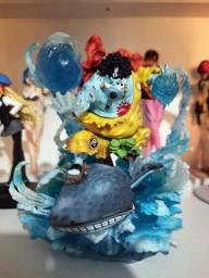 Jinbe One Piece Boneco Anime Action Figure