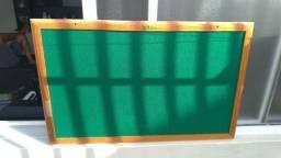 Quadro verde para avisos e bilhetes