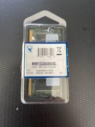 memória ram 4gb 1x4gb kingston kvr1333d3s9/4g