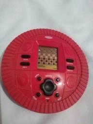 Jogo de dama eletrônico pilha Radica Vários níveis p/ Jogar contra o Computador