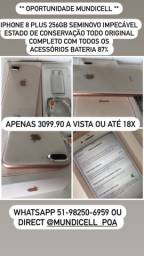 MUNDICELL IPHONE 8 PLUS 256GB IMPECÁVEL GARANTIA