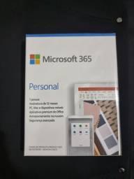 Microsoft 365 Personal (embalagem lacrada. Assinatura Anual p/1 Usuário