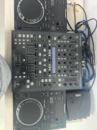 Cdj 350 + mixer ddm 4000 Urgente