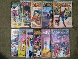 Coleção revista Superalmanaque Marvel completa, 1 a 11