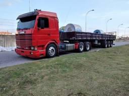 Título do anúncio: Scania 113h/360 Topline Vermelho Conjunto Impecável Muito Novo