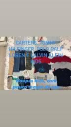 Carters, Tommy, Polo e Calvin Klein