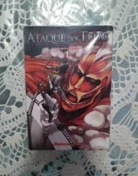 Mangá - Ataque dos Titãs: Volume 01