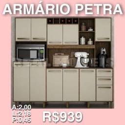 Título do anúncio: ARMÁRIO DE COZINHA PETRA / ARMÁRIO PETRA