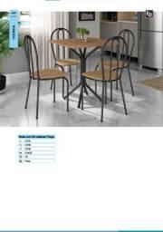 Título do anúncio: Conjunto mesa 4 cadeiras