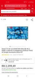 TV smart LG 43 inteligência artificial
