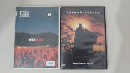 DVDS ORIGINAIS BATMAN BEGINS E JOTA QUEST